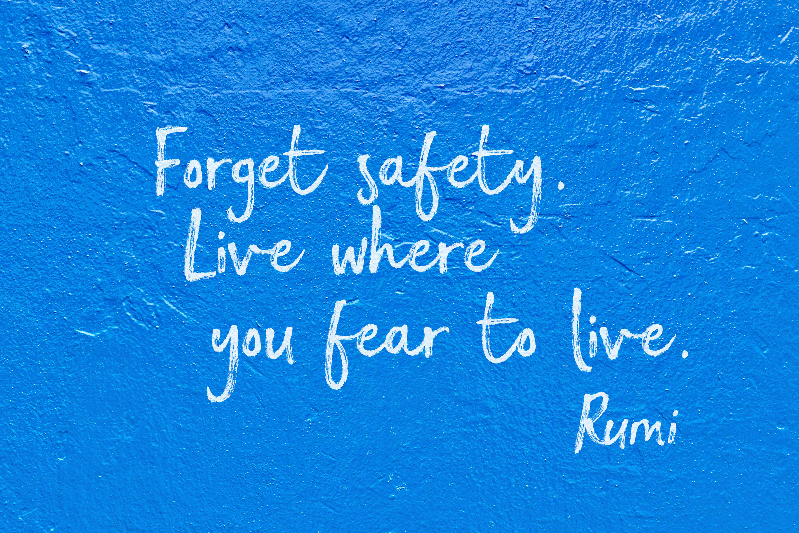 forget safety blue Rumi